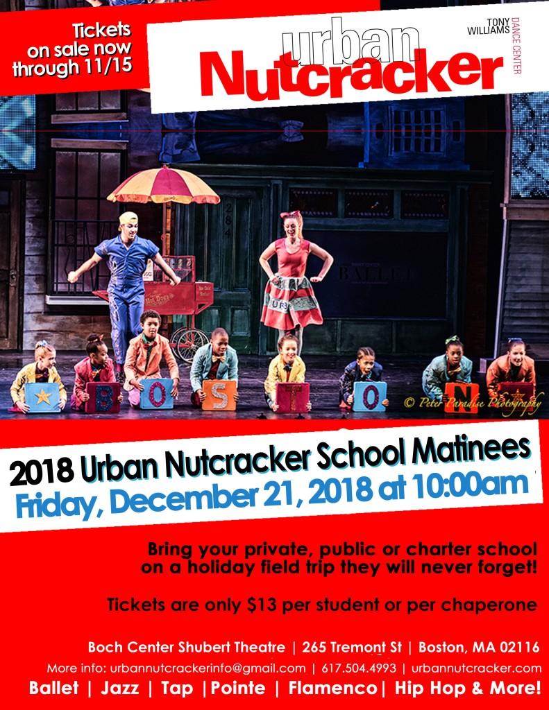 2018 UN School Matinee Poster