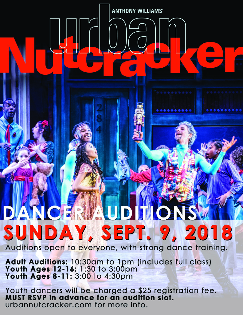 UN18 DANCER AUDITIONS small