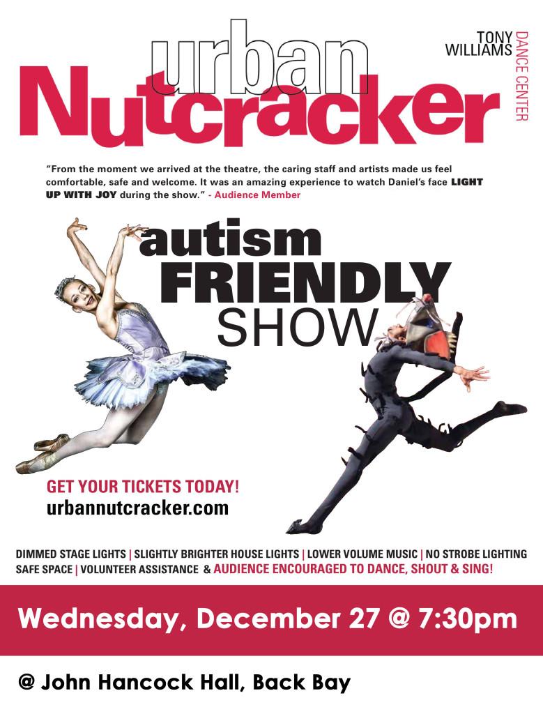 Urban Nutcracker Autism Friendly Flyer 2017